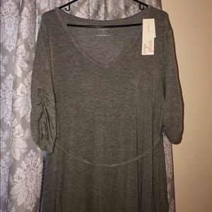 Motherhood Maternity Gray tunic